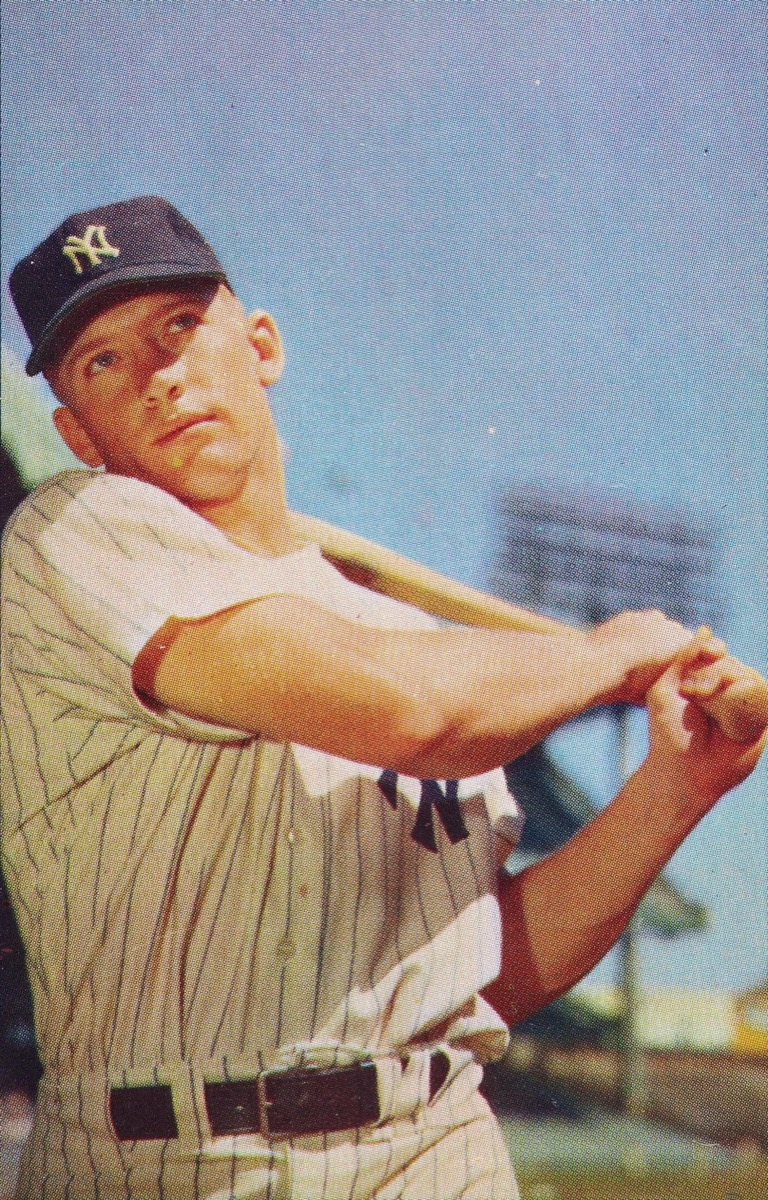 KT47BC Mickey Mantle 1953, biggest male icon