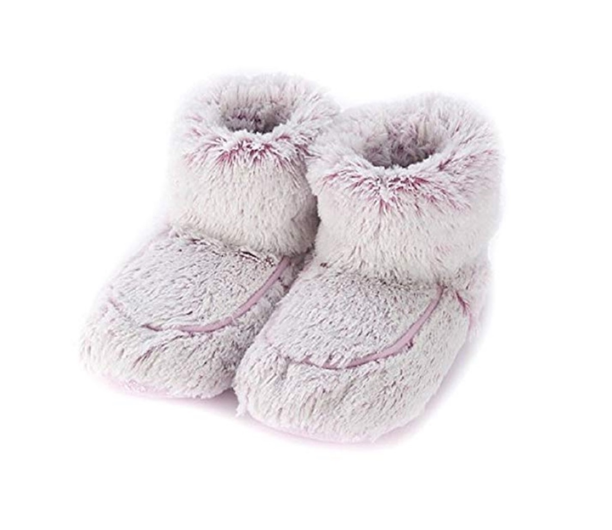 fuzzy purple slippers, relaxation gift