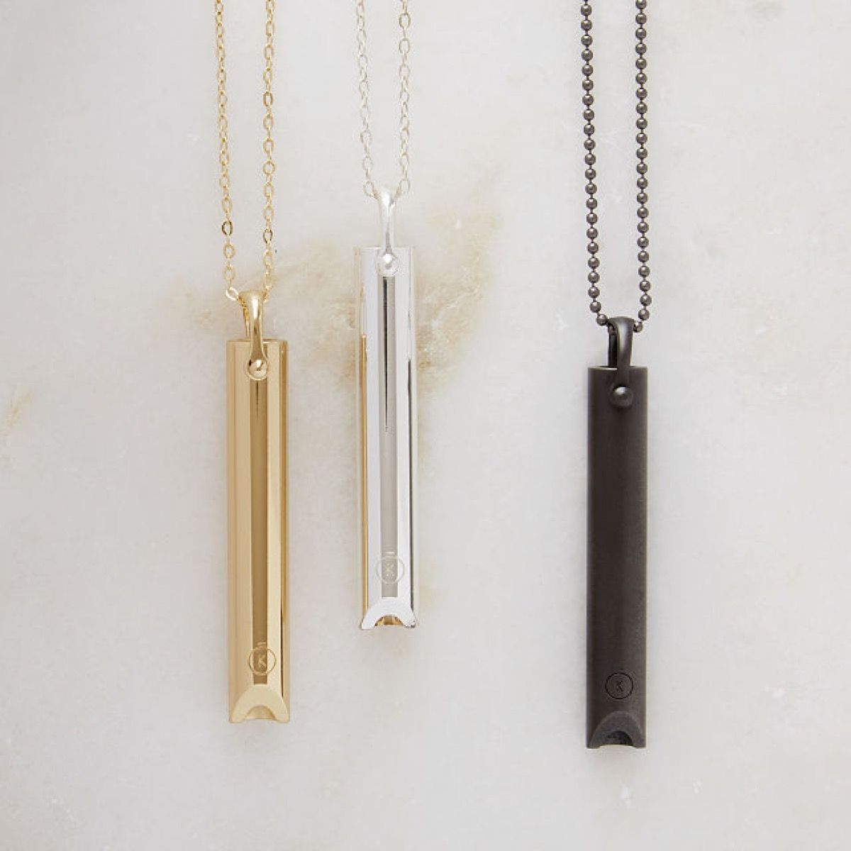 metal necklaces, relaxation gifts