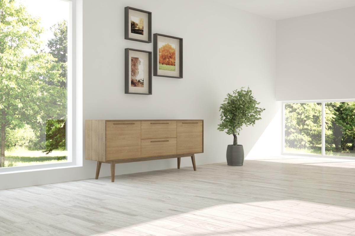 minimalist living room, interior design mistakes