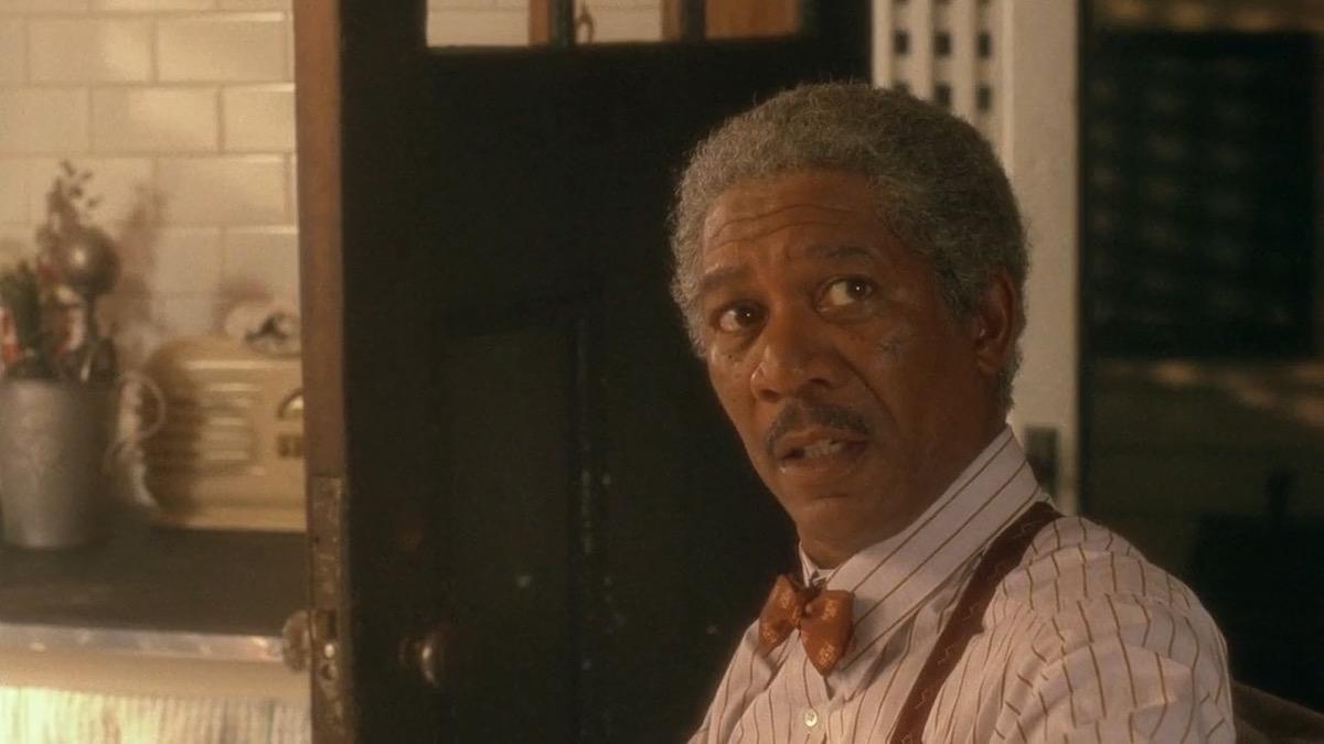 "Morgan Freeman in ""Driving Miss Daisy"""