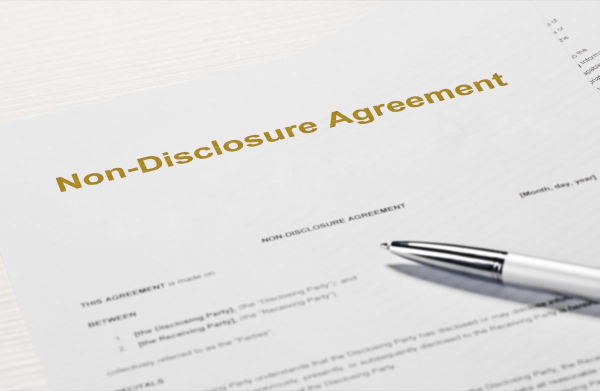 non disclosure agreement, crazy kardashian facts