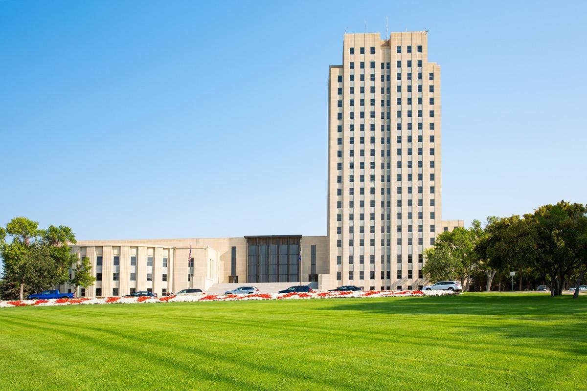 north dakota capitol tower