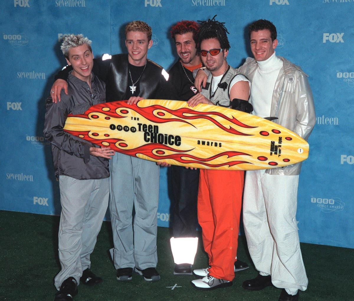 nsync teen choice awards 1999