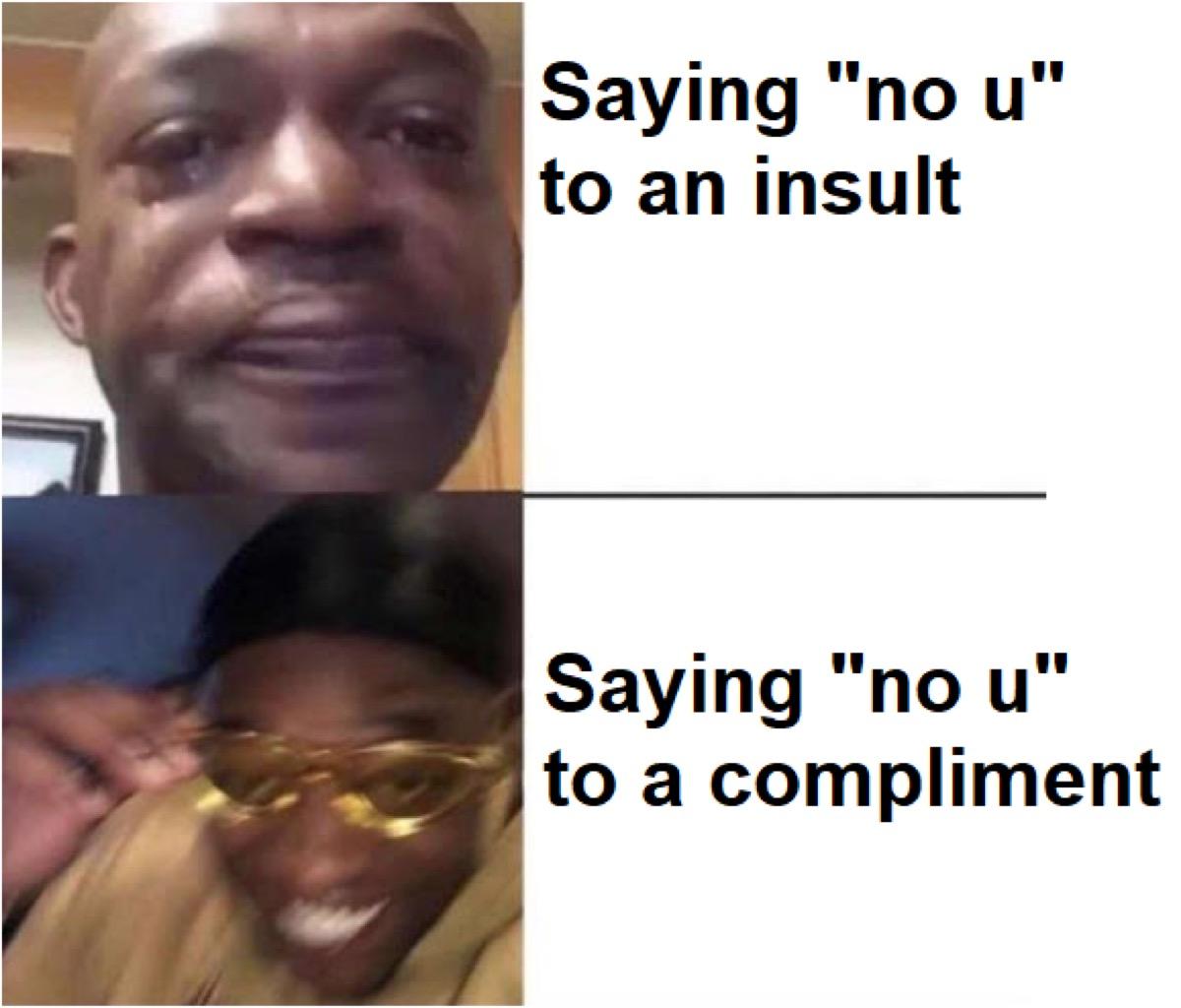 """""""No u"""" meme"""