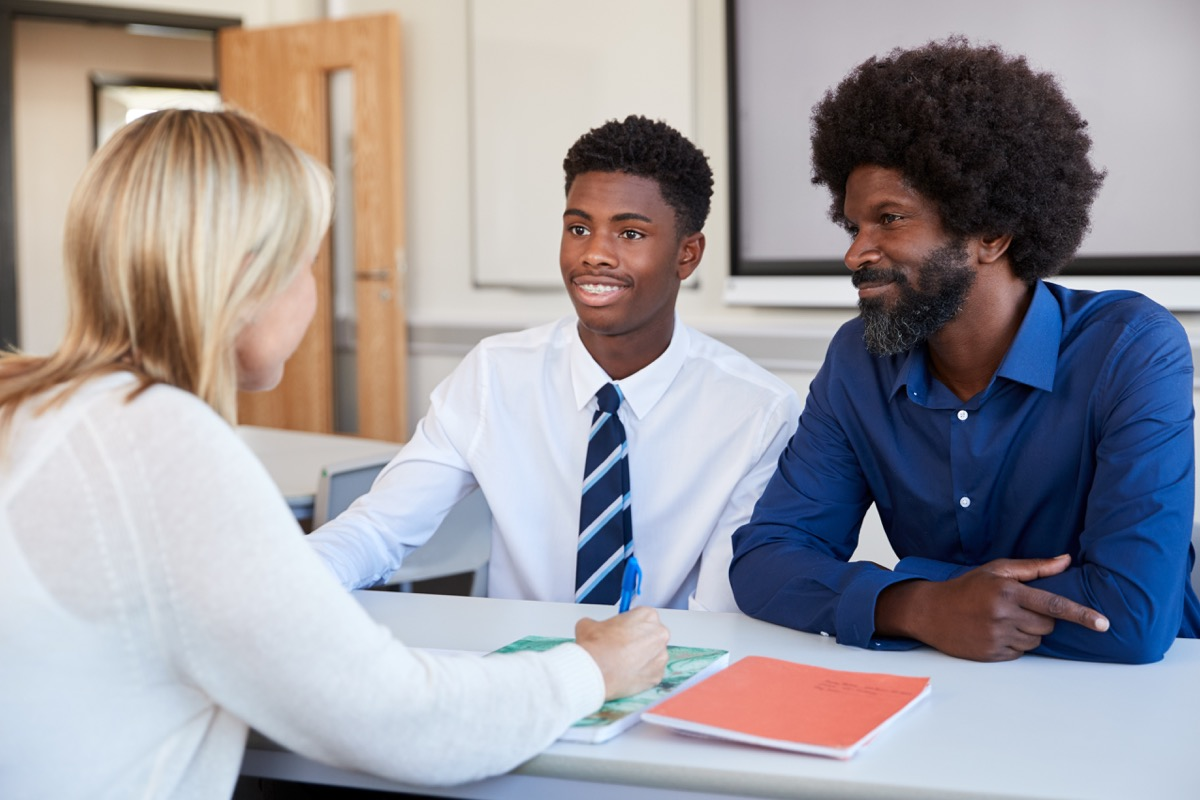 parent teacher meeting lies teachers tell parents