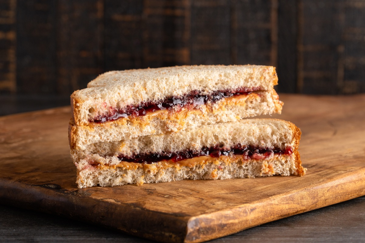Peanut Butter and Jelly Sandwich 1990s Parents