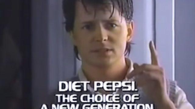 Pepsi Commercial 1980s Taglines