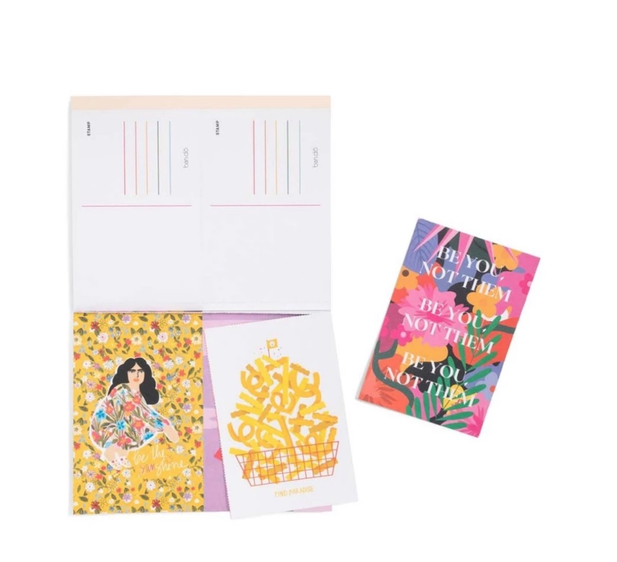 postcard set, best gifts for college students