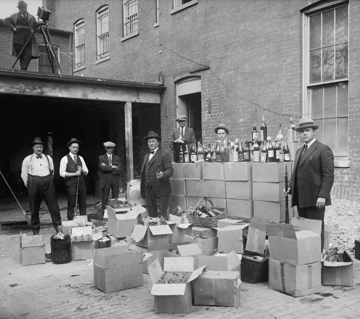prohibition agents during american prohibition