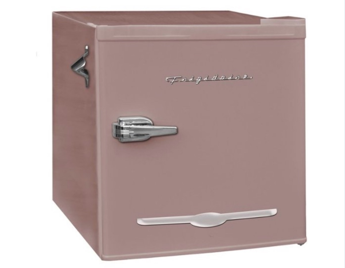 pink mini fridge, best gifts for college students