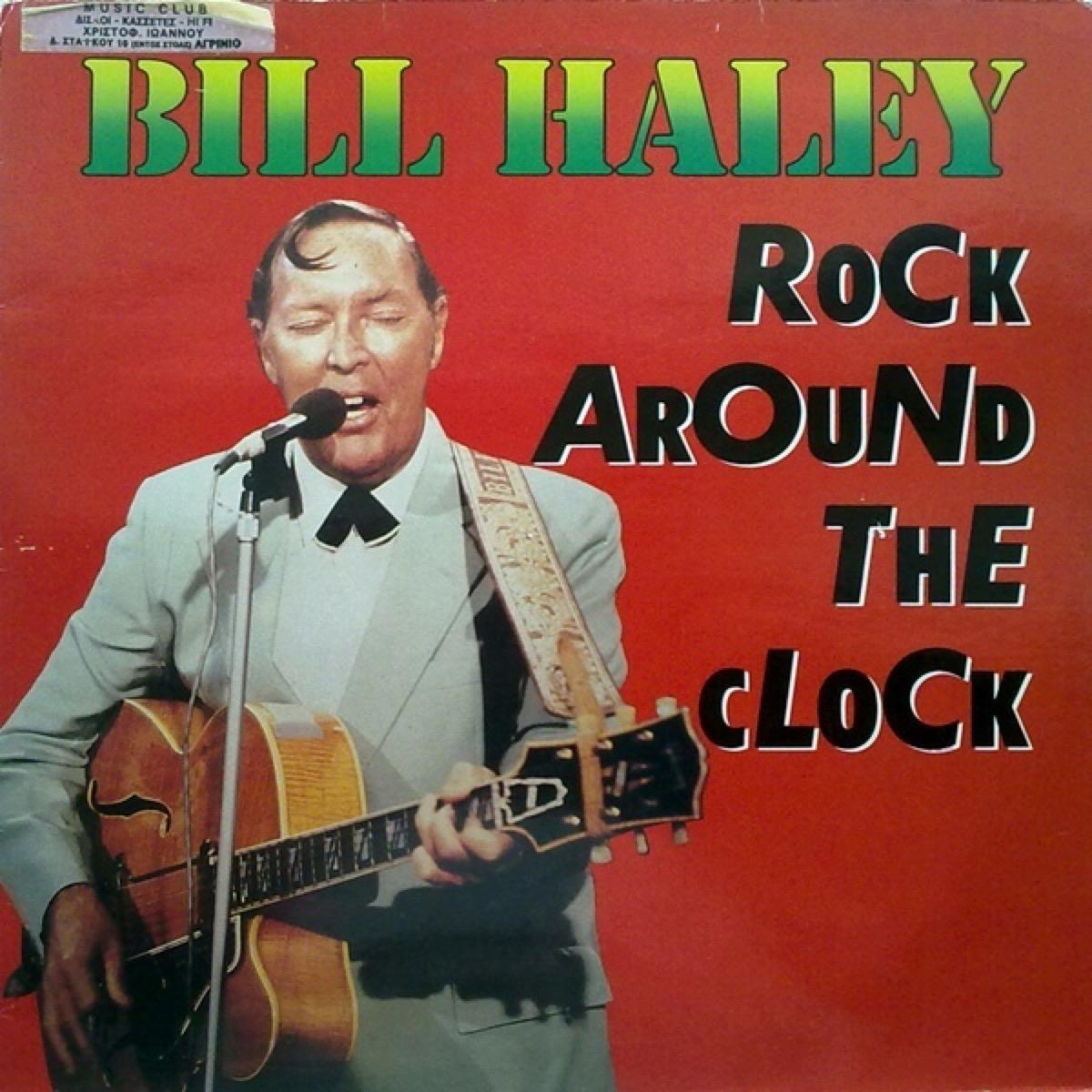 "Bill Haley ""Rock Around the Clock"" album cover"