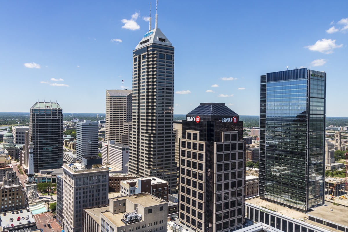 salesforce tower indianapolis indiana