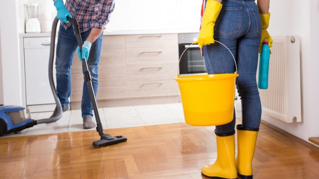 one-third of couples would give up alcohol to never do chores again, survey finds