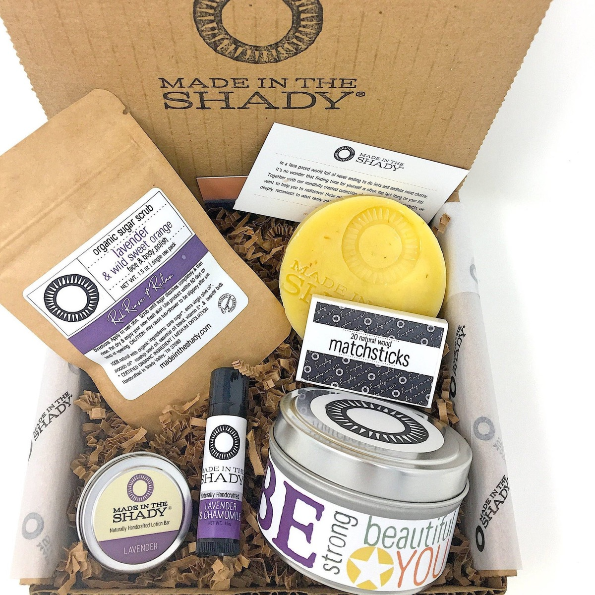 self-care kit, relaxation gifts