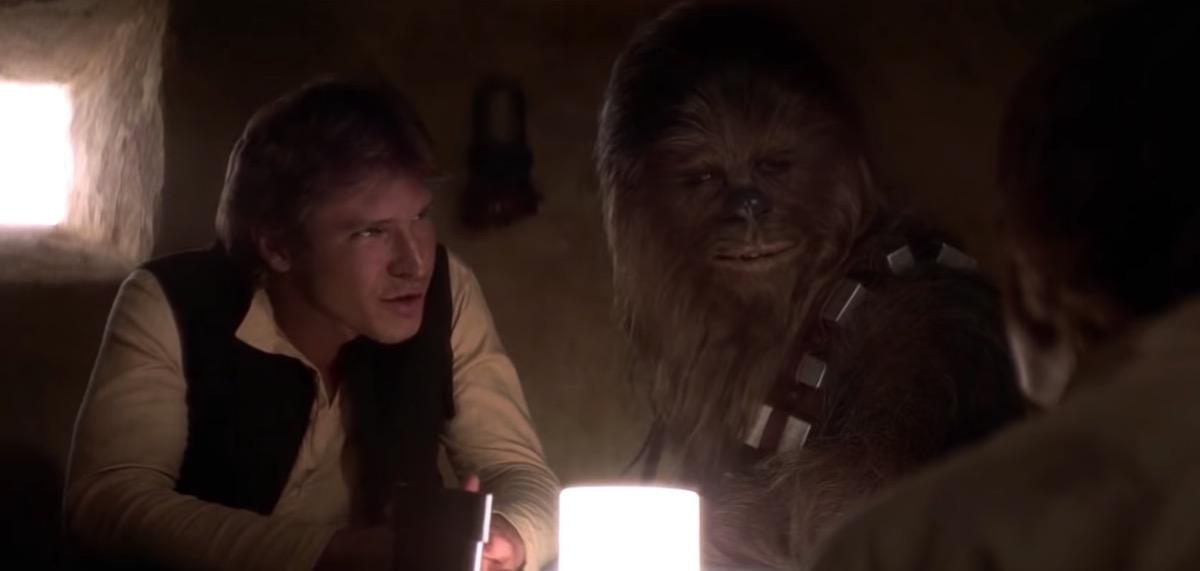 "Harrison Ford in ""Star Wars"""
