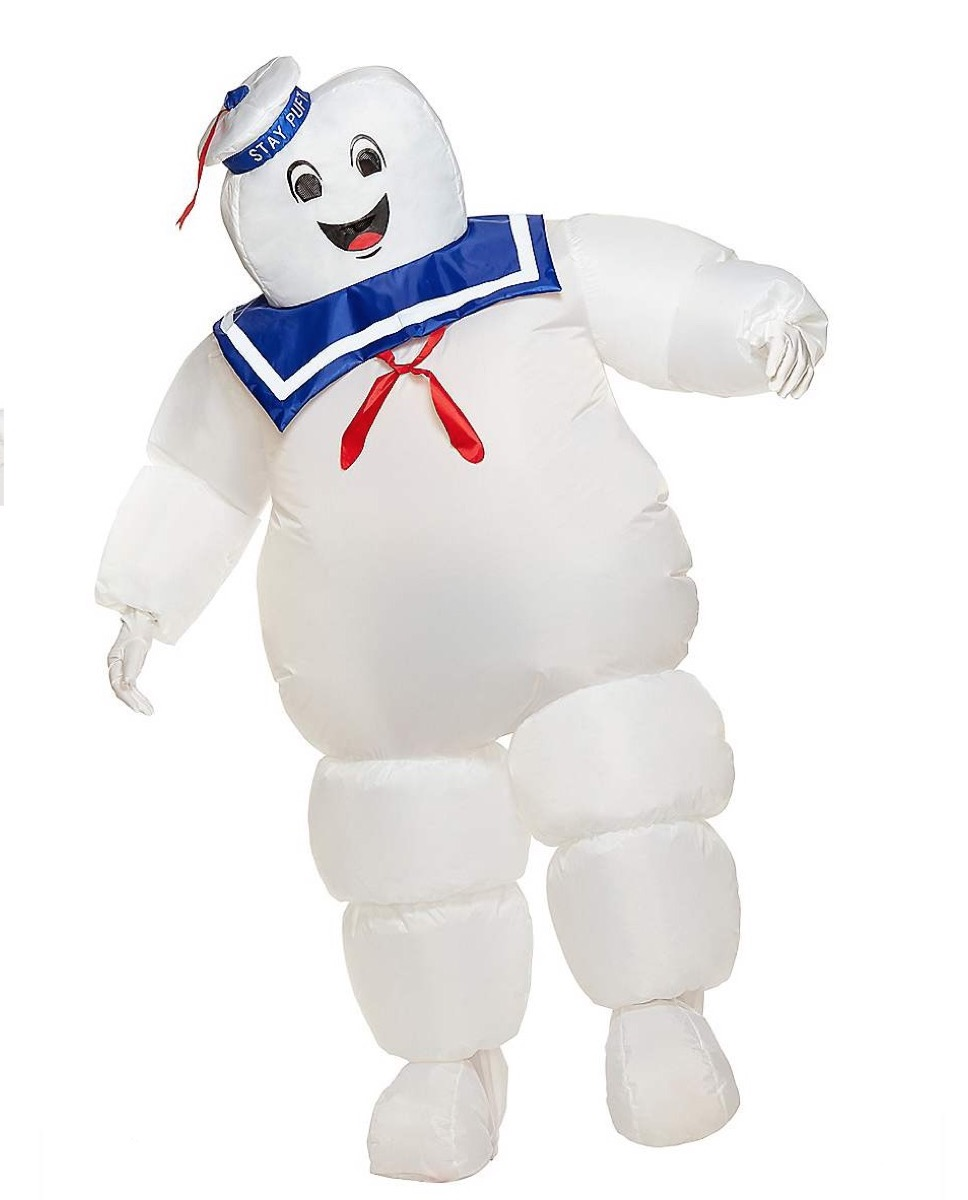 stay puft marshmallow costume, best halloween costumes