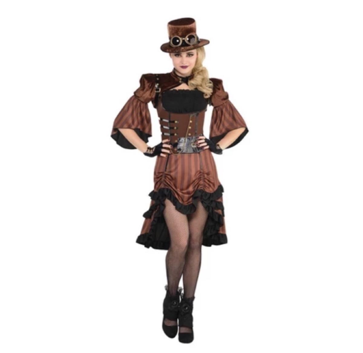 steampunk costume, target halloween costumes