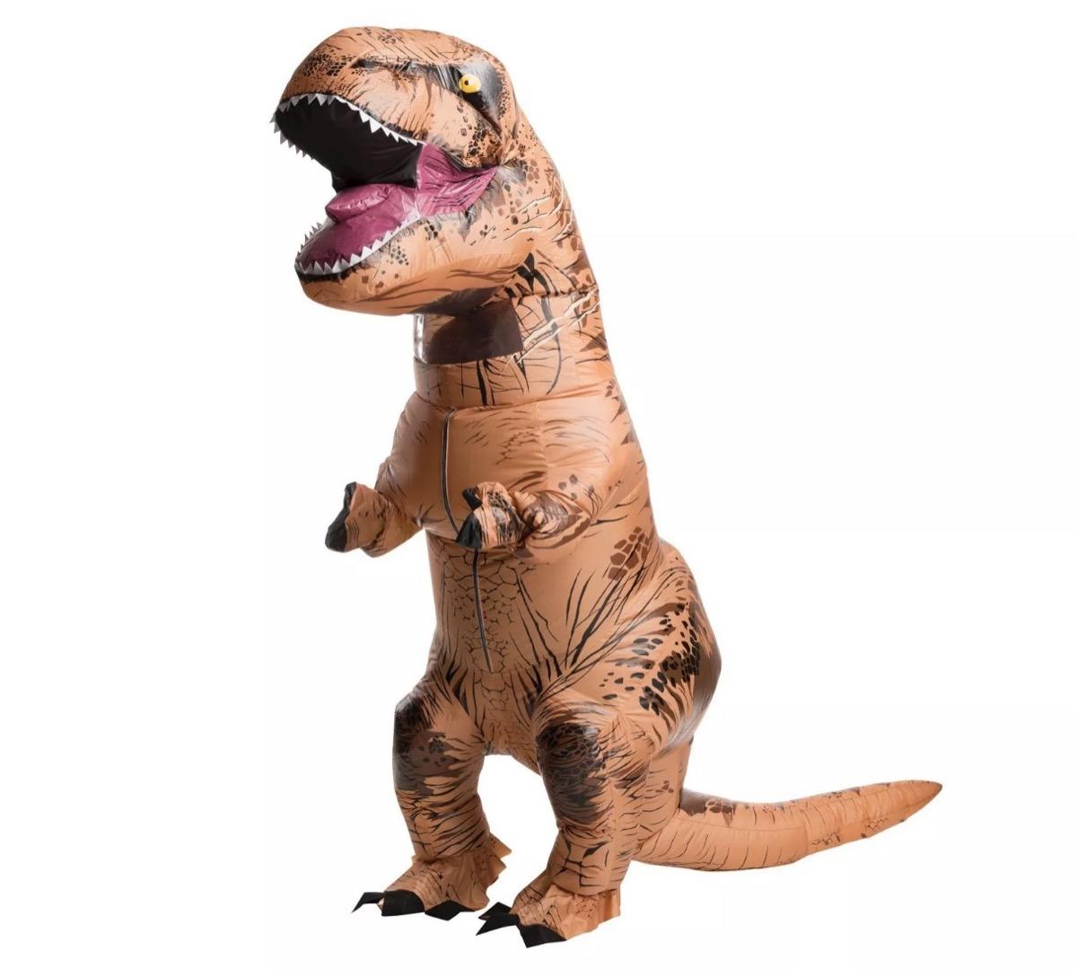 inflatable t-rex costume, best halloween costumes