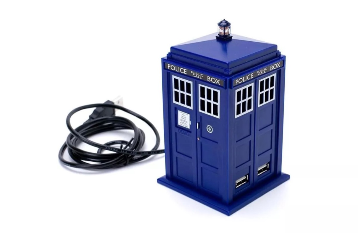 tardis usb hub, best gifts for college students
