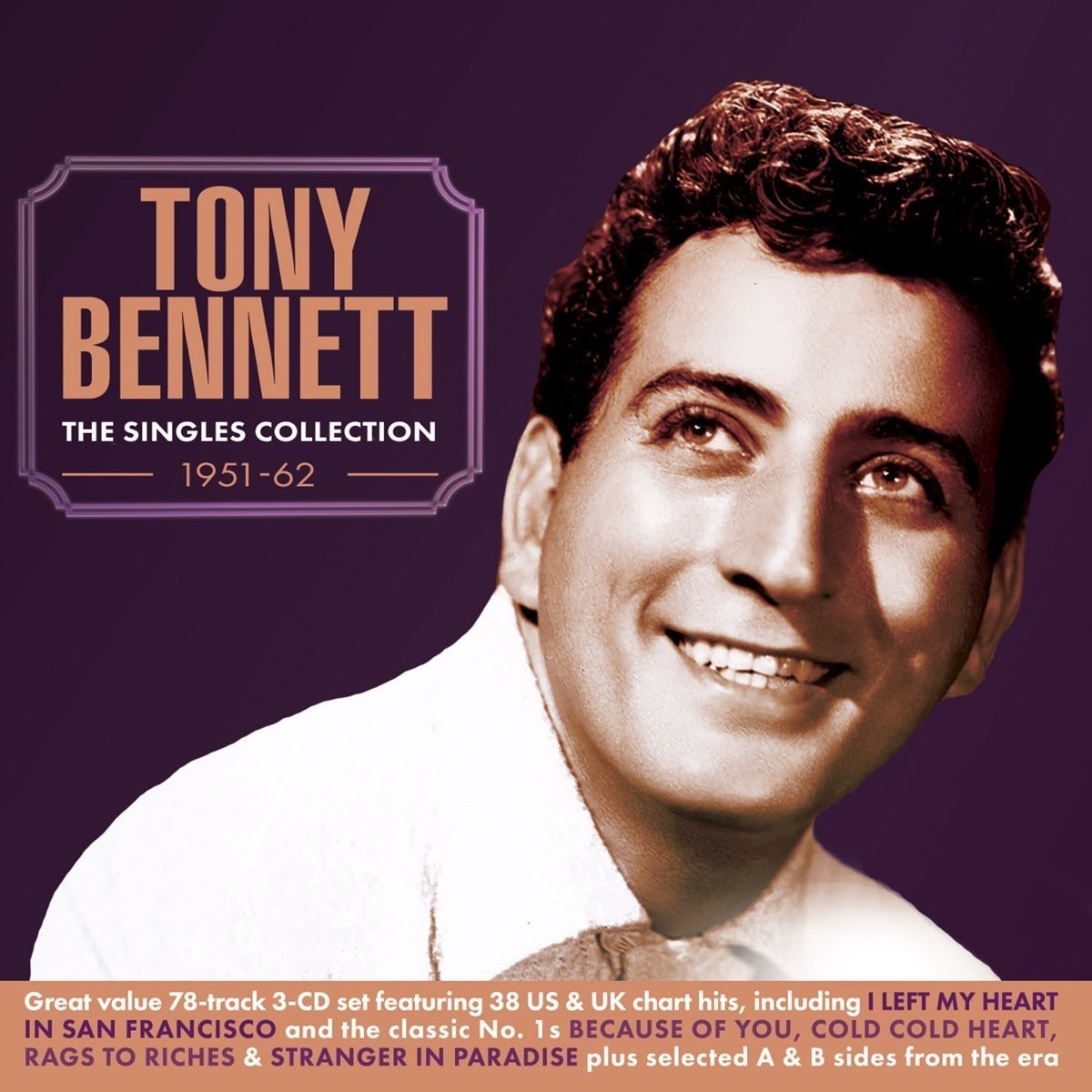 """Tony Bennett """"The Singles Collection"""" album cover"""