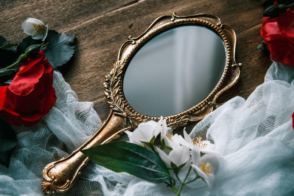 vintage mirror, 1999 teen choice awards
