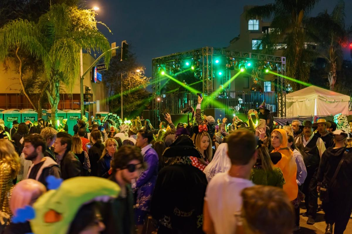 west hollywood halloween carnival - best halloween festivals