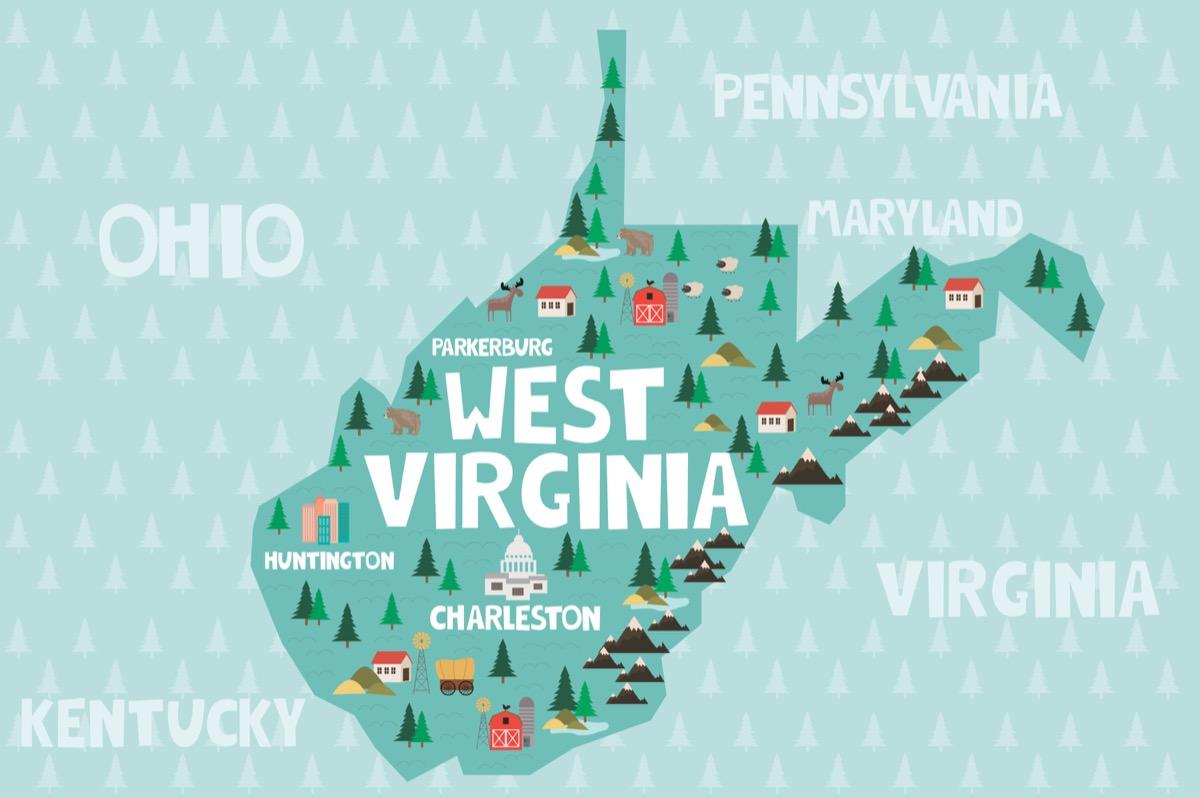 west virginia U.S. state 1990s-era news stories