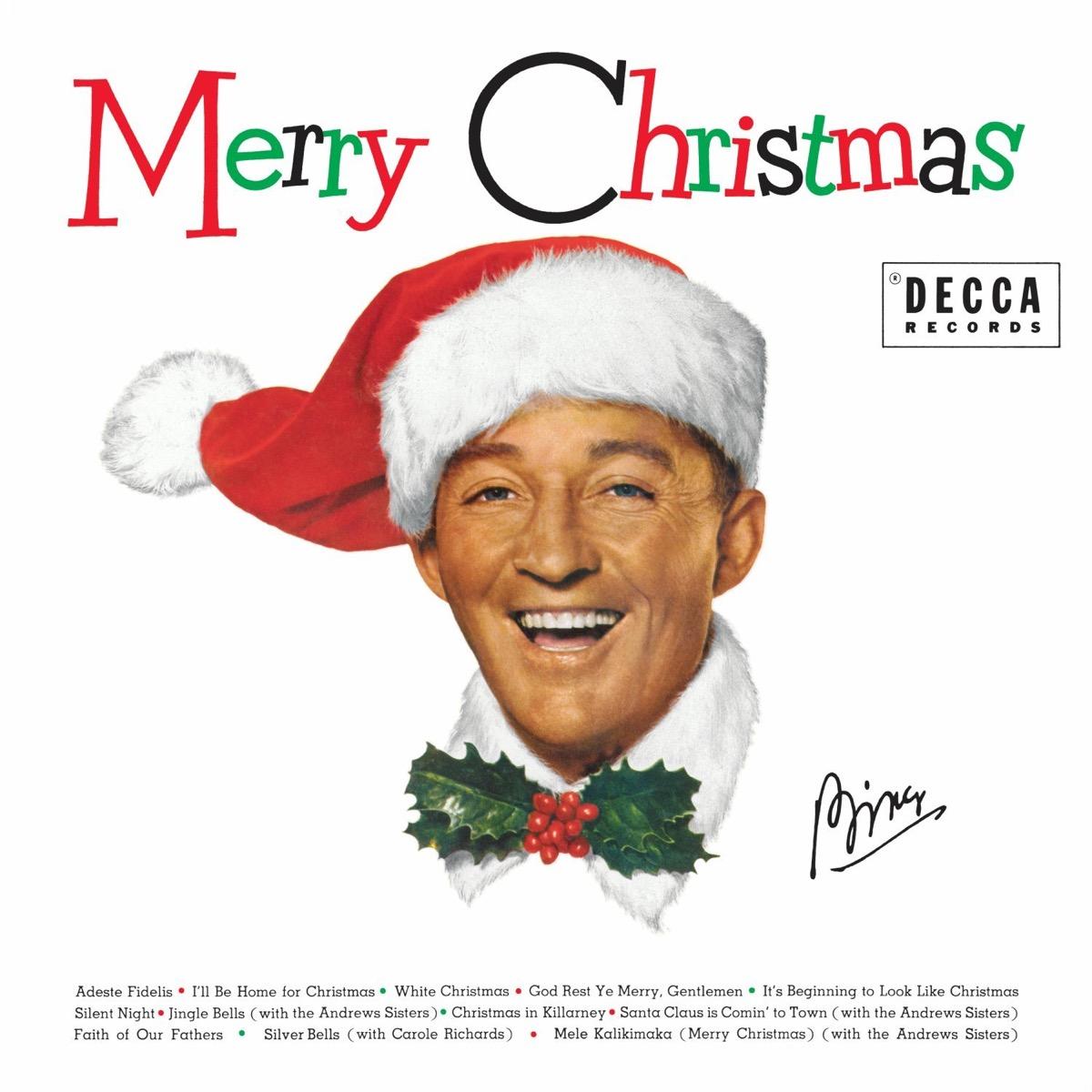 "Bing Crosby ""White Christmas"" album cover"