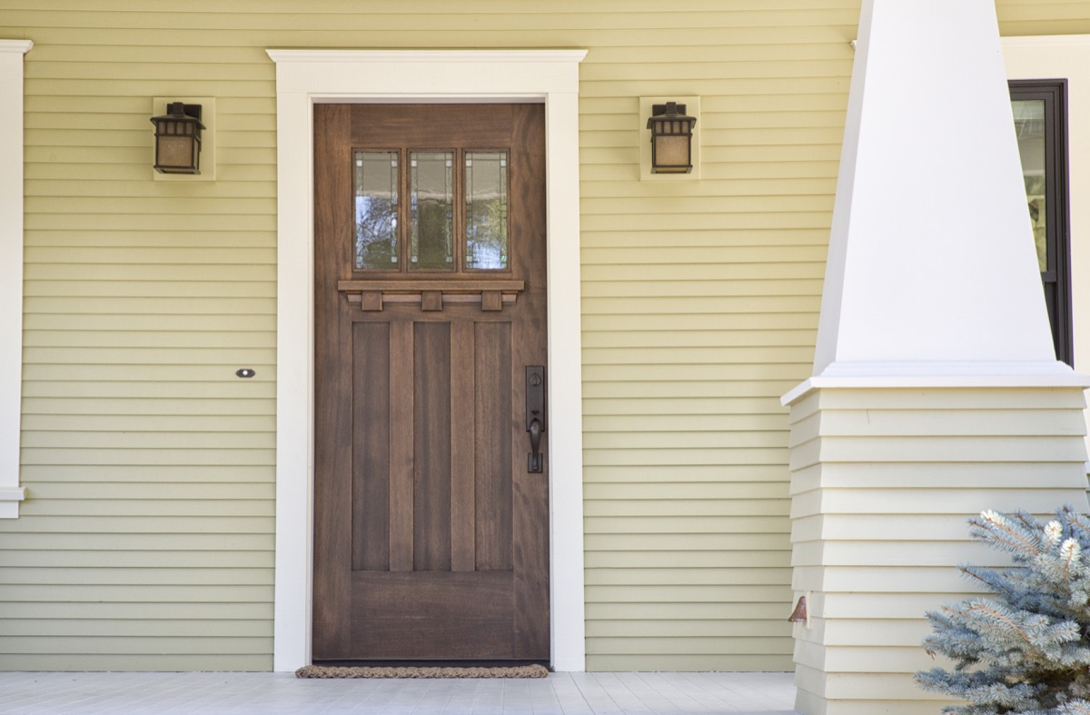 white door frame on home things in your house attracting pests