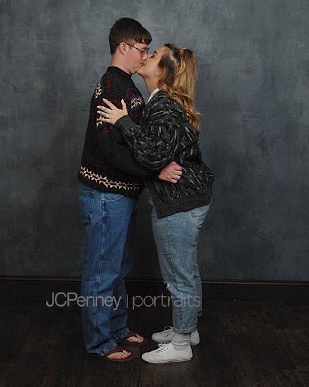 JC Penny engagement photo shoot