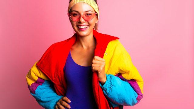 80s neon fashion
