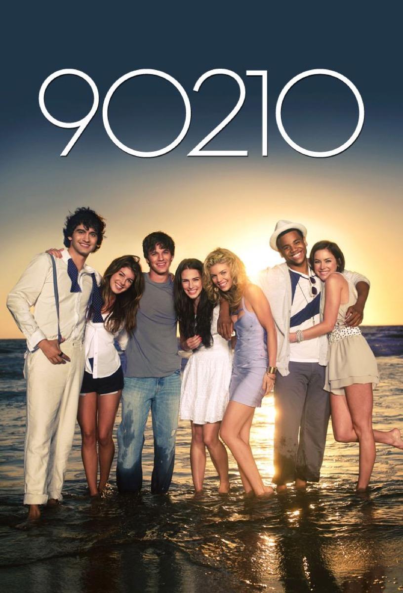 90210 reboot poster