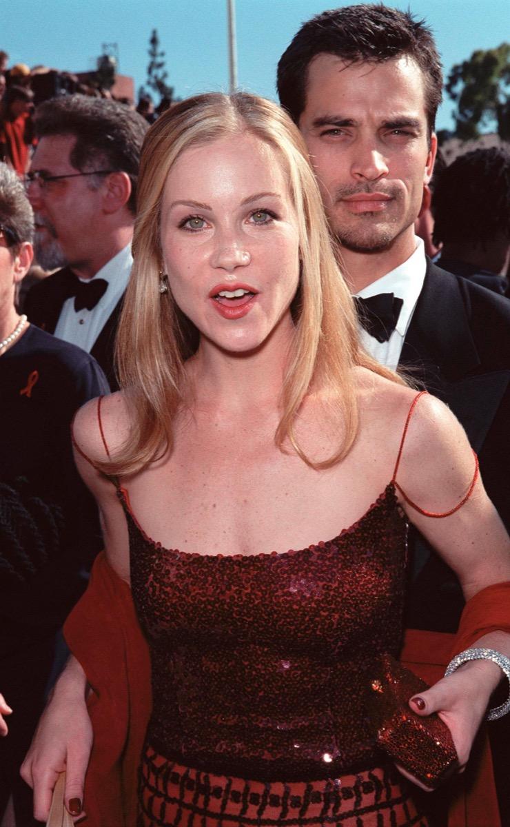christina applegate at the 1999 emmy awards