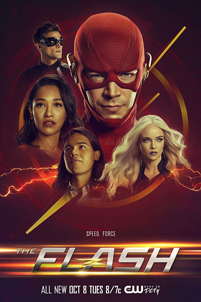 The Flash promo poster