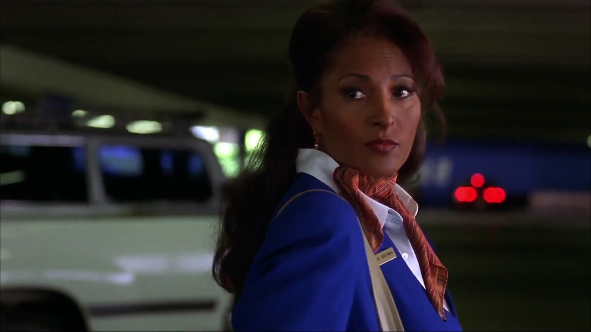 Jackie Brown, played by Pam Grier, iconic leading ladies