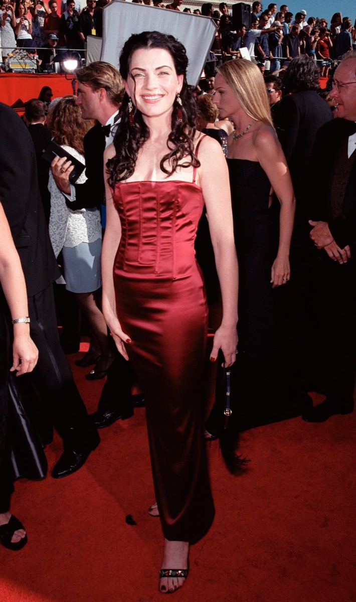 julianna marguiles at the 1999 emmy awards