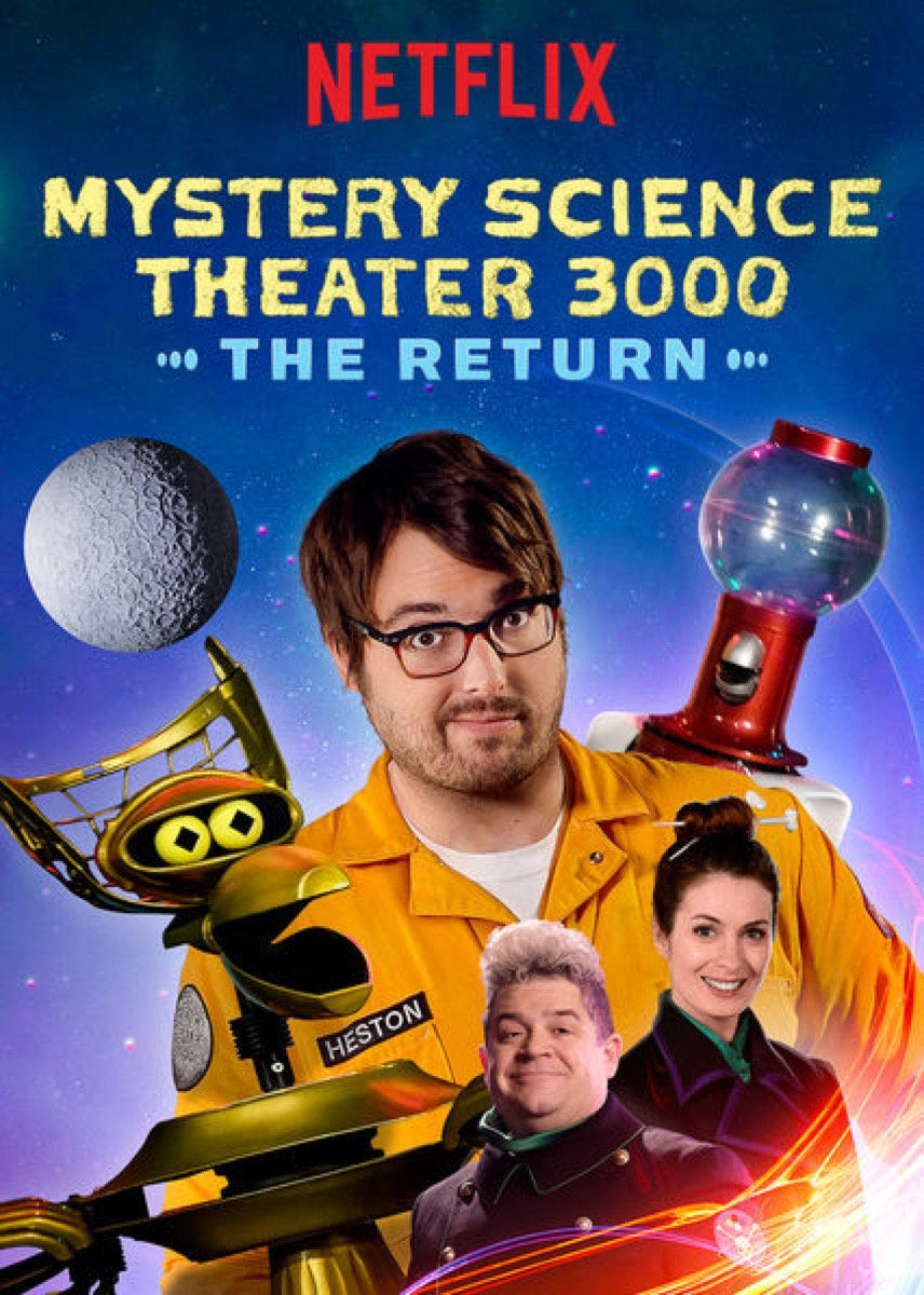 Mystery science promo poster