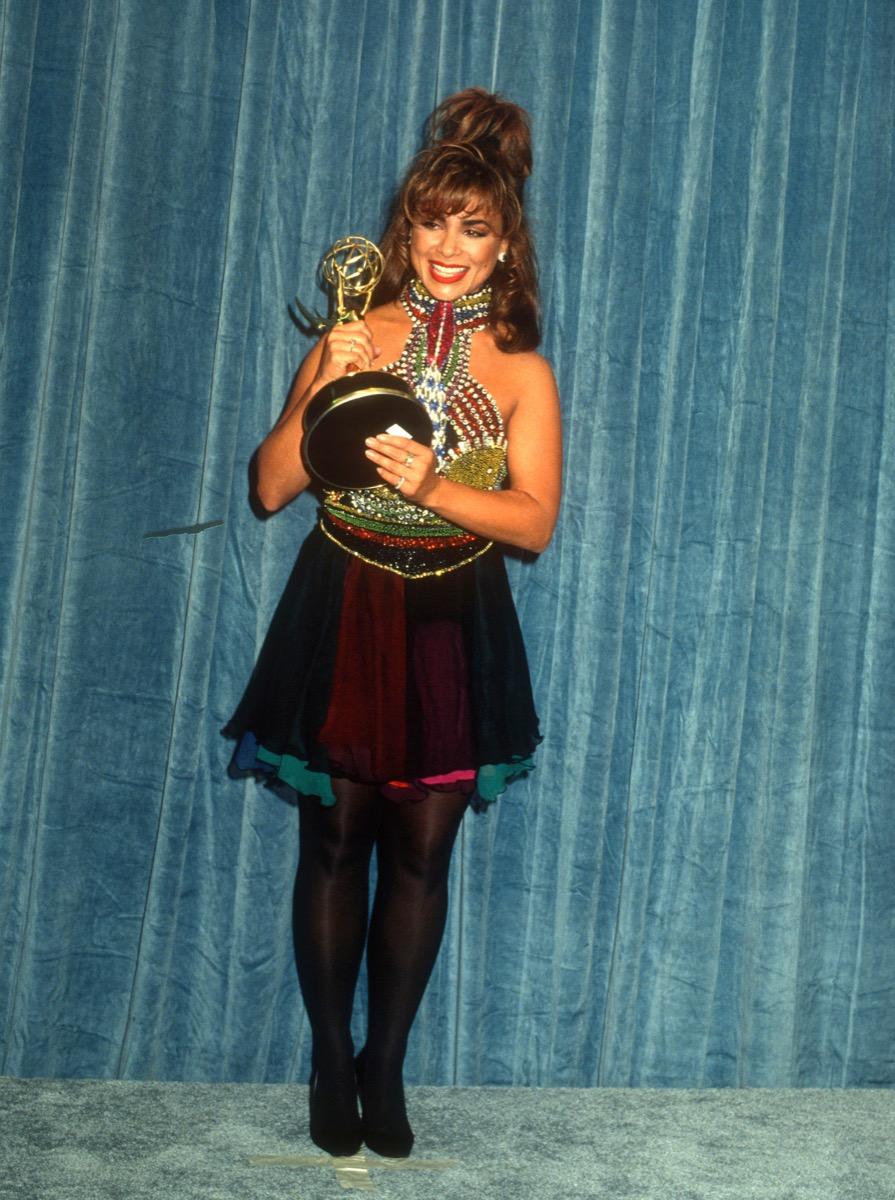 Paula Abdul at the Emmy Awards Iconic Emmys Looks