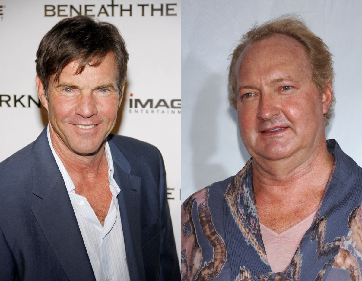 Dennis and Randy Quaid Surprising Celebrity Siblings