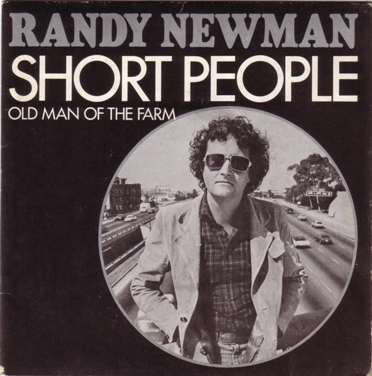 album cover for Randy Newman's short people