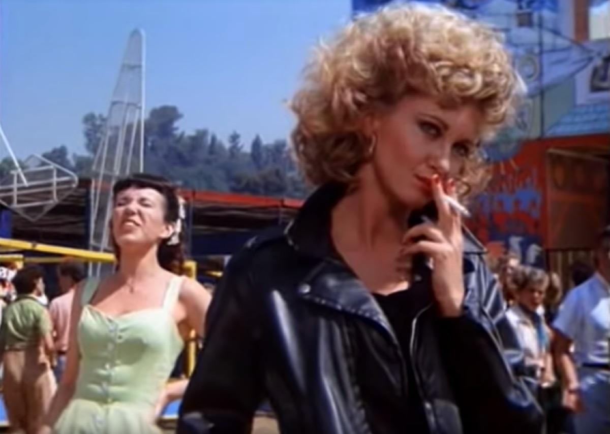 Olivia Newton John as Sandy in Grease