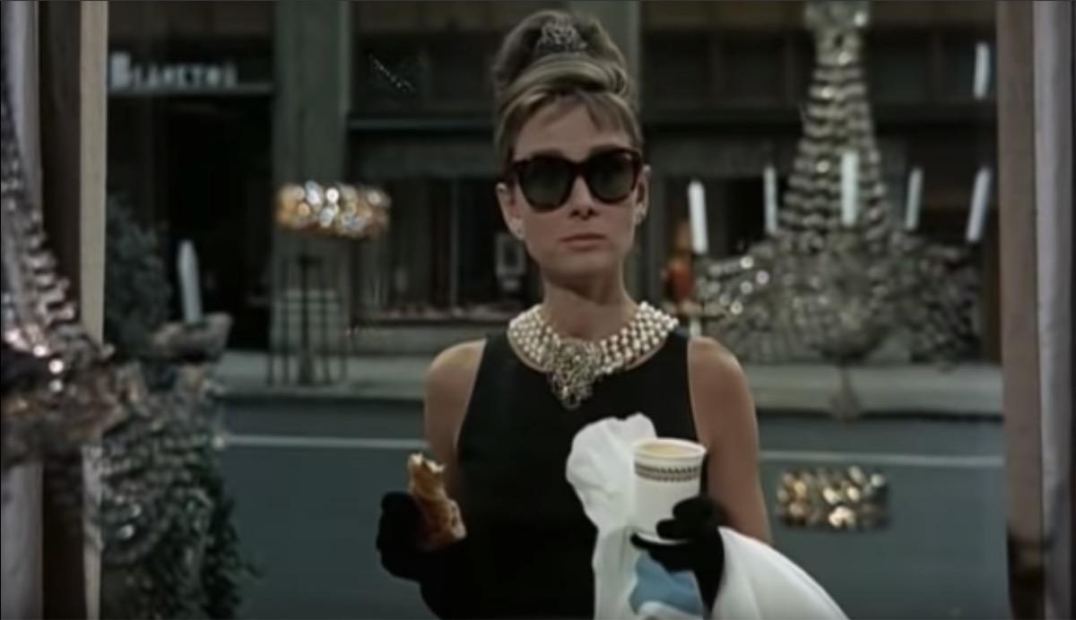 Audrey Hepburn as Holly Golightly in Breakfast at Tiffany's, inspiring leading ladies in film