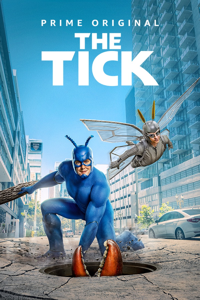 the tick reboot promo poster