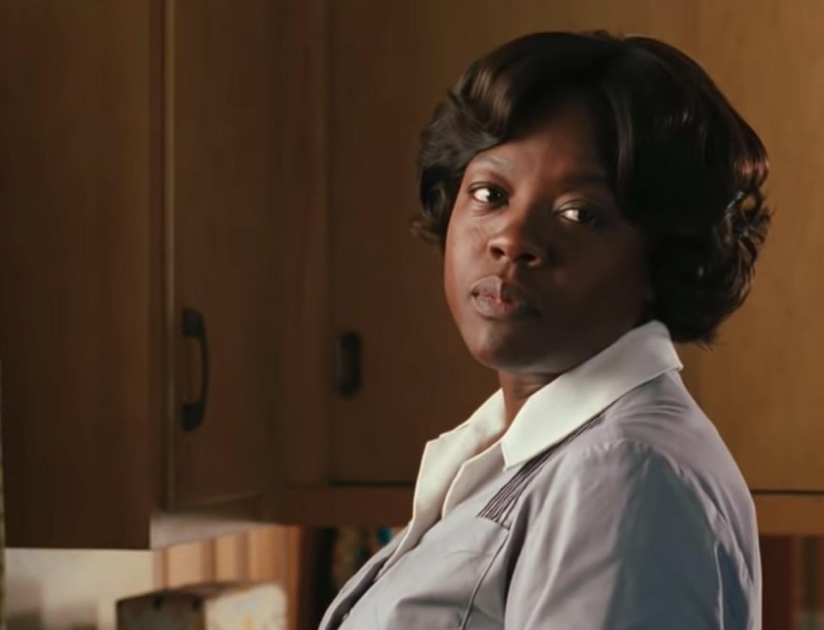 Viola Davis in The Help, iconic leading ladies