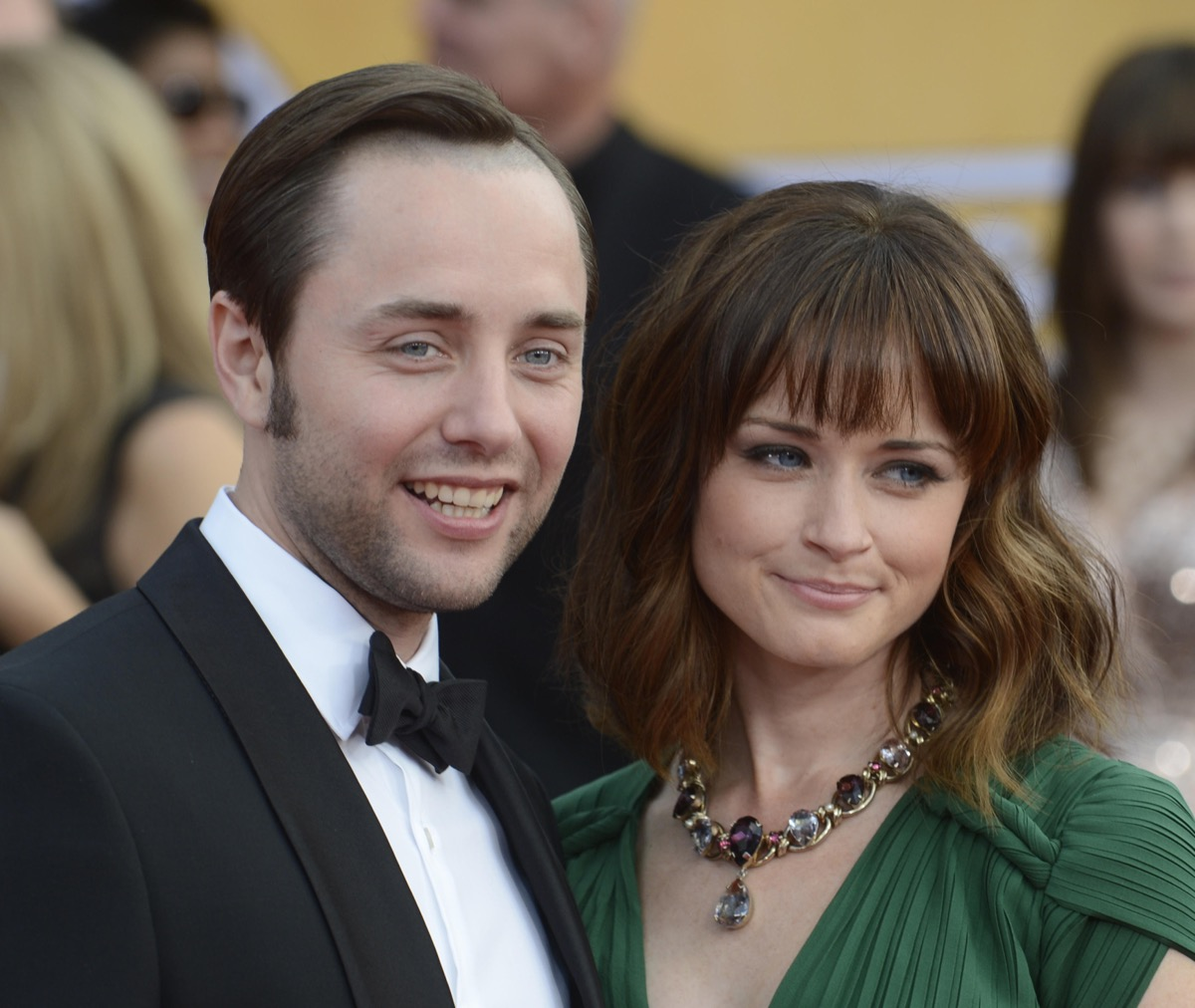 ActorVincent Kartheiser and Alexis Bledel