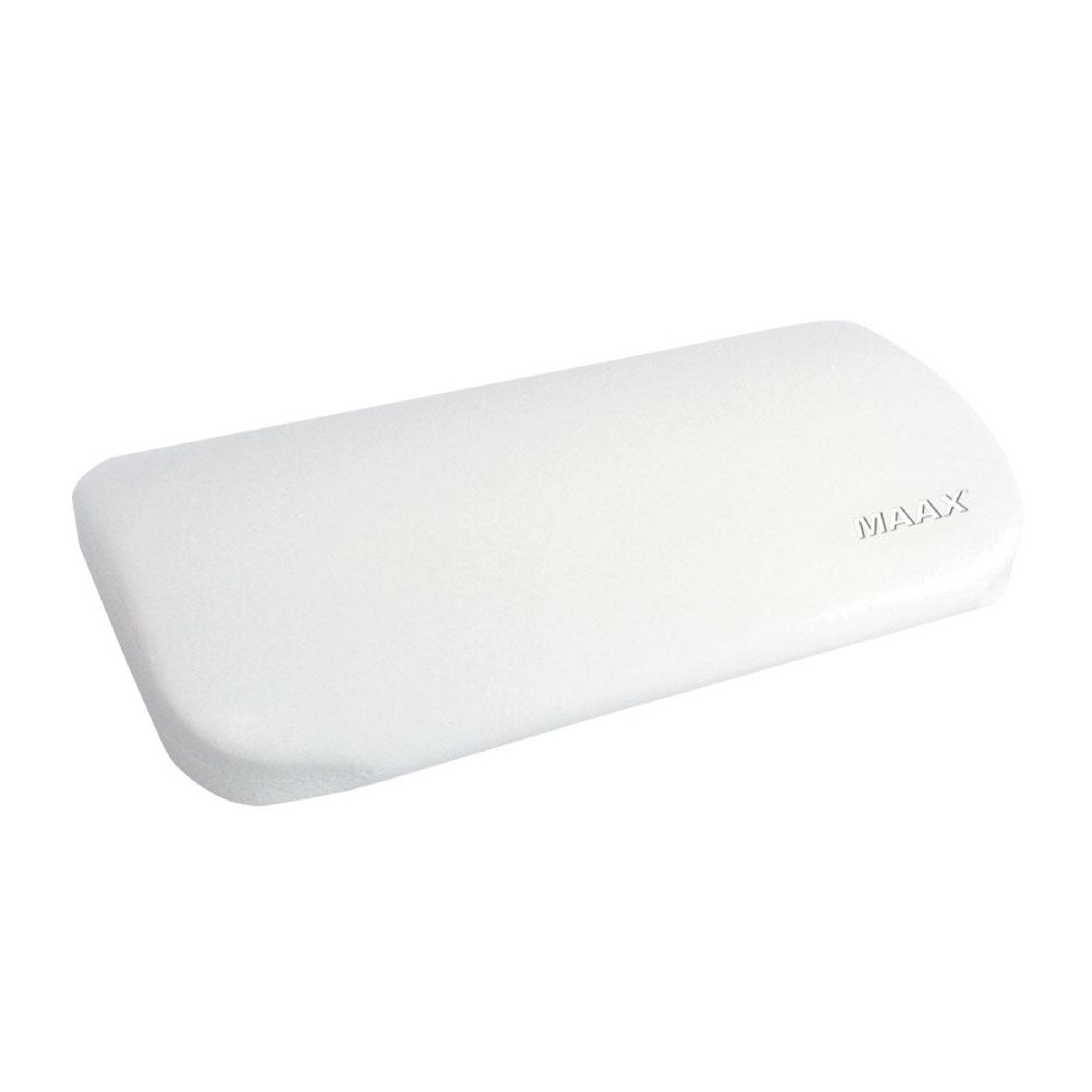 white bath pillow, bathroom accessories