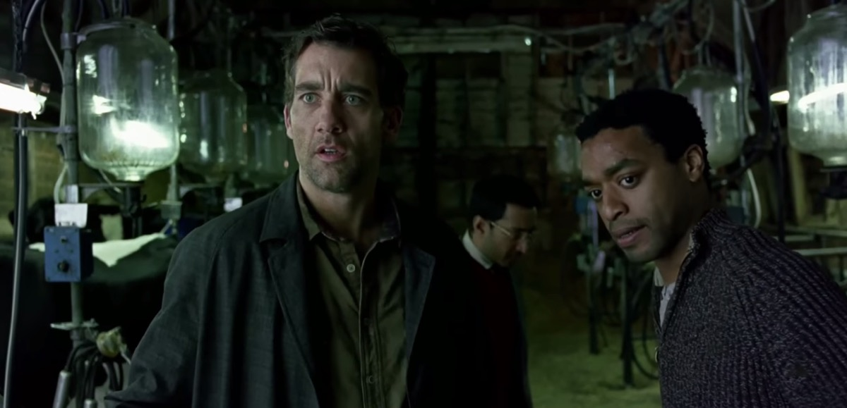 clive owen and clare hope ashitey in children of men