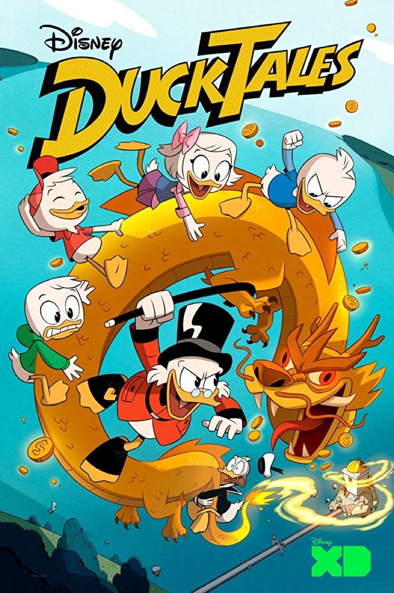 ducktales reboot promo poster