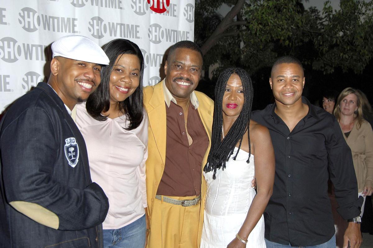 Omar Gooding, Cuba Gooding, Jr. and family